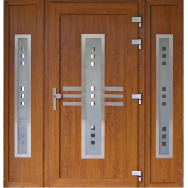 Wood external and internal entry